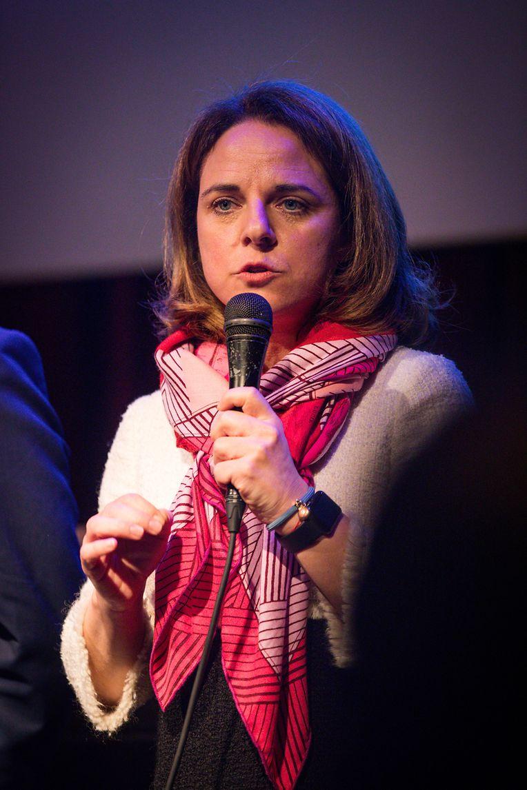 Corinne Cahen ging in ihrer Rede auf das Jahr 2020 ein. Man wolle das Leben der Menschen verbessern und habe einiges an Arbeit vor sich.
