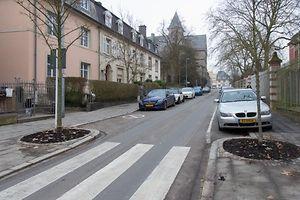 Rue Antoine Zinnen,Limpertsberg. Foto:Gerry Huberty