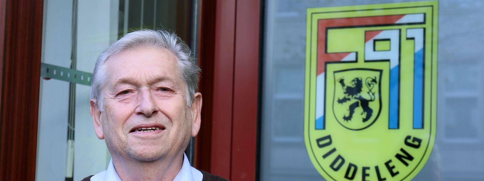 Théo Fellerich ist seit 1992 Vorstandsmitglied bei F91 Düdelingen.