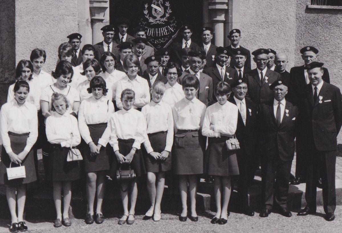 1968 wurde aus dem reinen Männerchor ein gemischter. 16 Mädchen und Frauen wurden neu aufgenommen.
