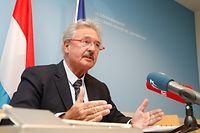 Politik, LSAP, Jean Asselborn, Briefing Iran   Foto: Anouk Antony/Luxemburger Wort