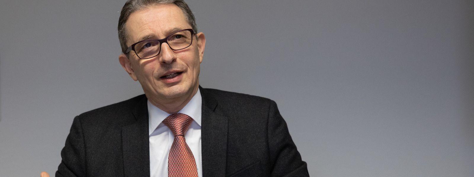 François Moyse ist Vorsitzender der Fondation luxembourgeoise pour la mémoire de la Shoah.