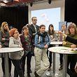 Bei den Veranstaltungen konnten die Teilnehmer ihre Ideen rund um das Thema Sprachförderung vorstellen. Die Anregungen sollen nun in einen Bürgerbericht fließen.