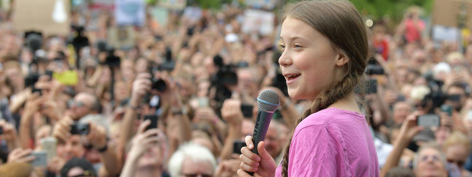 """Im Juli hatten Tausende Schüler zusammen mit der schwedischen Klima-Aktivistin Greta Thunberg an der """"Fridays for Future"""" Demonstration in Berlin teilgenommen."""
