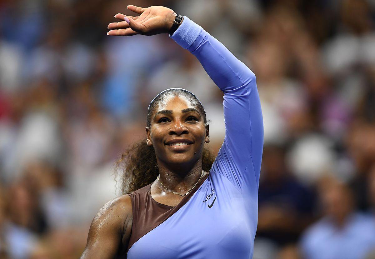 Serena Williams ne dispute que son septième tournoi depuis son retour de maternité début mars.