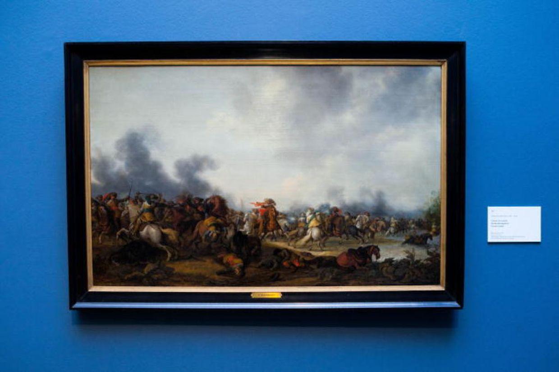 Palamedes Palamedesz: Combat de Cavalerie (Das Kavalleriegechet), 1636
