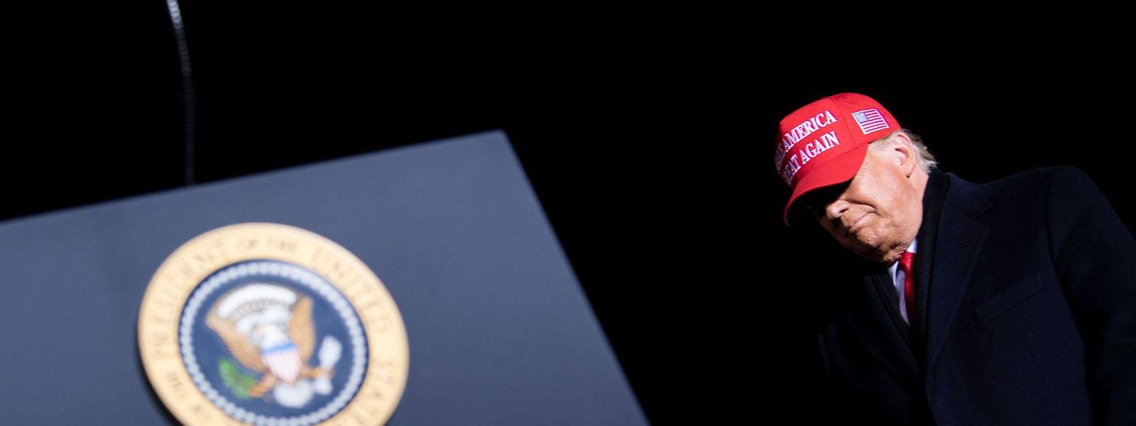 Donald Trump bei einer Wahlkampfveranstaltung am 2. November in Wisconsin: Laut US-Medien wird der Republikaner trotz seiner Wahlniederlage weiterhin eine starke politische Rolle spielen.