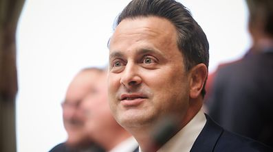 Déclaration état de la nation par Xavier Bettel - Photo : Pierre Matgé