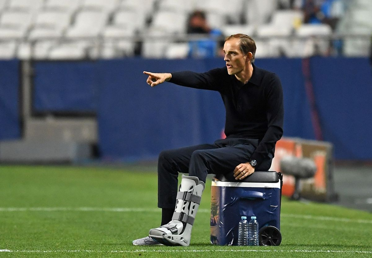Le coach allemand du Paris Saint-Germain, Thomas Tuchel a donné la leçon à son cadet Julian Nagelsmann