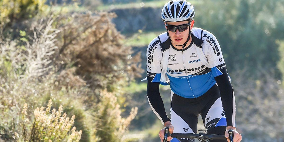 Alex Kirsch a changé d'équipe mais n'a pas encore porté officiellement son nouveau maillot, celui de Wallonie-Bruxelles Veranclassic-Aqua Project