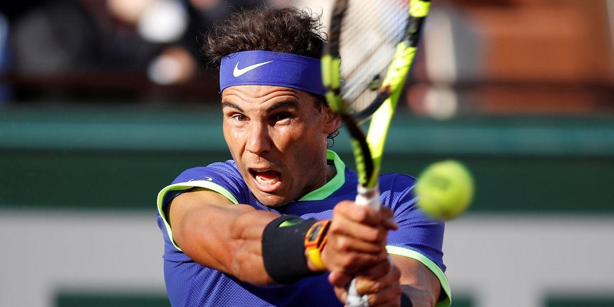 L'Espagnol Rafael Nadal n'a pas fait dans le détail contre l'Autrichien Dominic Thiem en demi-finale. Résultat: un 6-3, 6-4, 6-x bien tassé