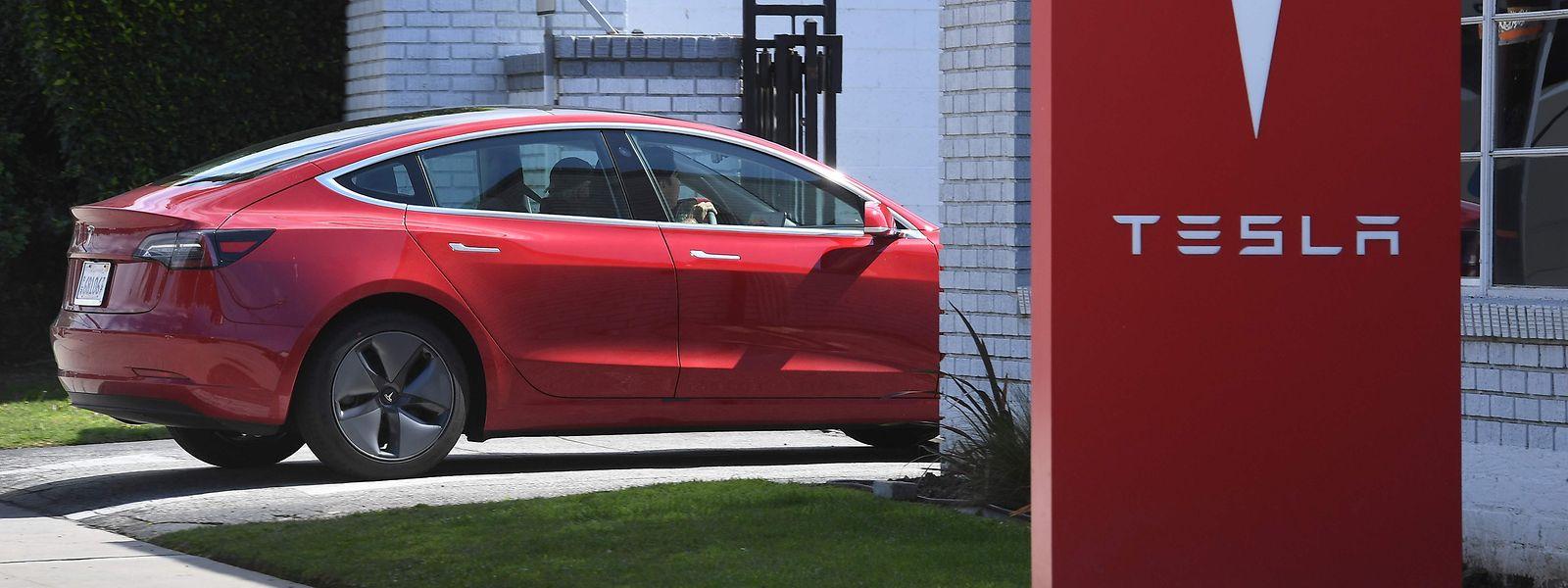 Tesla wurde von den Börsen abgestraft.