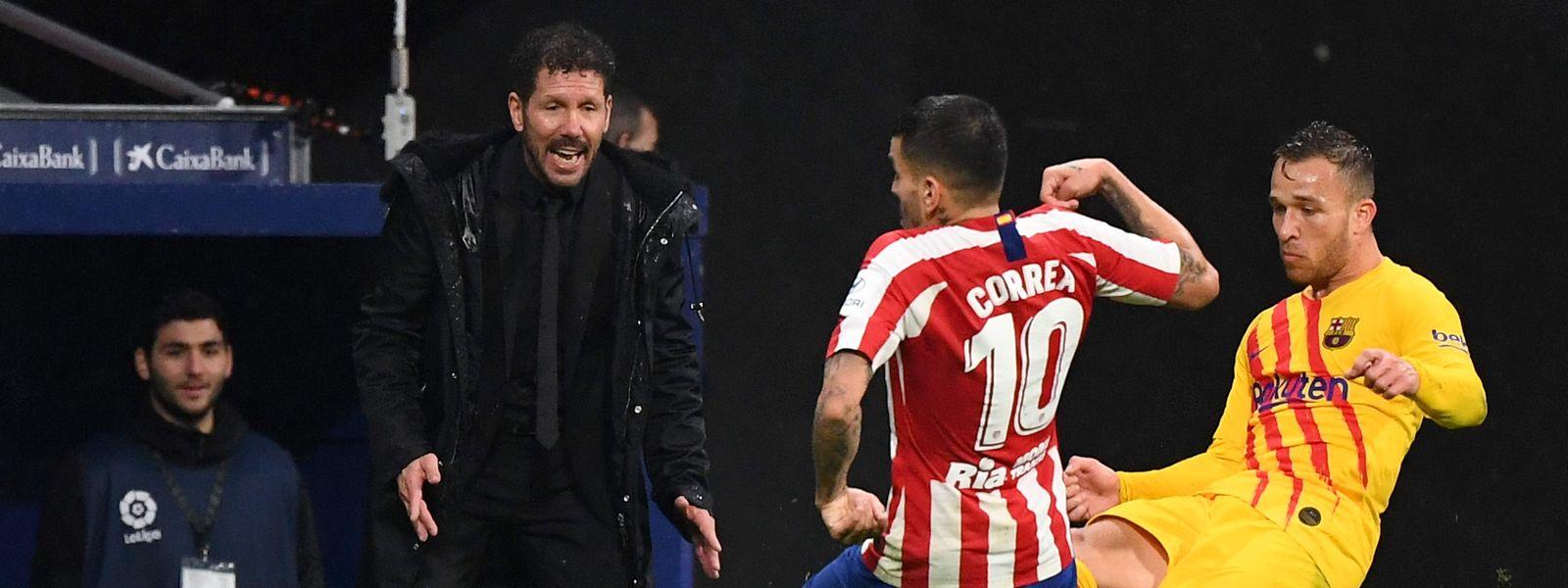 Après huit années de succès, Diego Simeone et l'Atlético connaissent une saison difficile.
