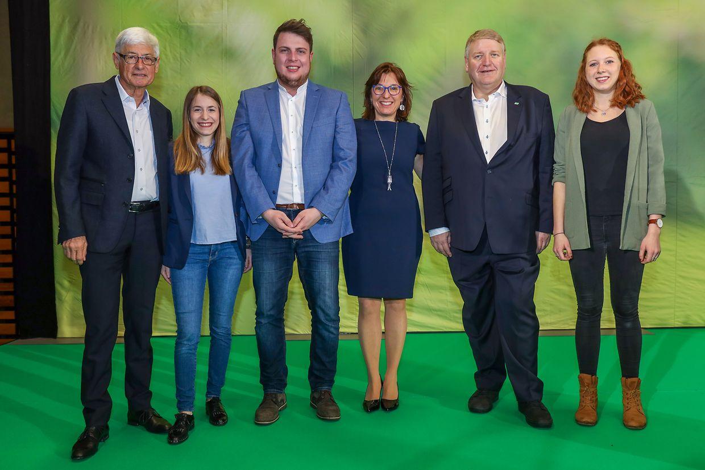 Martin Kox, Jessie Thill, Meris Sehovic et Tilly Metz aux côtés de Christian Kmiotek et Tanja Duprez