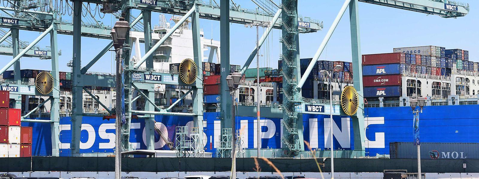 In den ersten neun Monaten des laufenden Jahres importierte die EU 4,5 Prozent mehr Waren aus China als im Vorjahr.