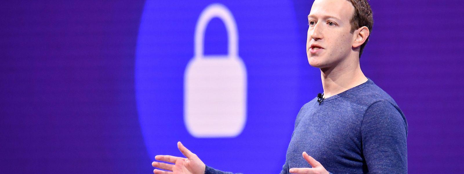 Mark Zuckerberg wirkte lockerer als zuletzt.