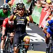 Dylan Groenewegen (NL/LottoNL-Jumbo) gewinnt seine zweite Etappe bei der Tour 2018.