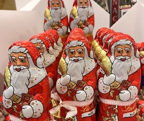 Der Weihnachtsmann mit der Glocke ein Muss in der Weihnachtszeit