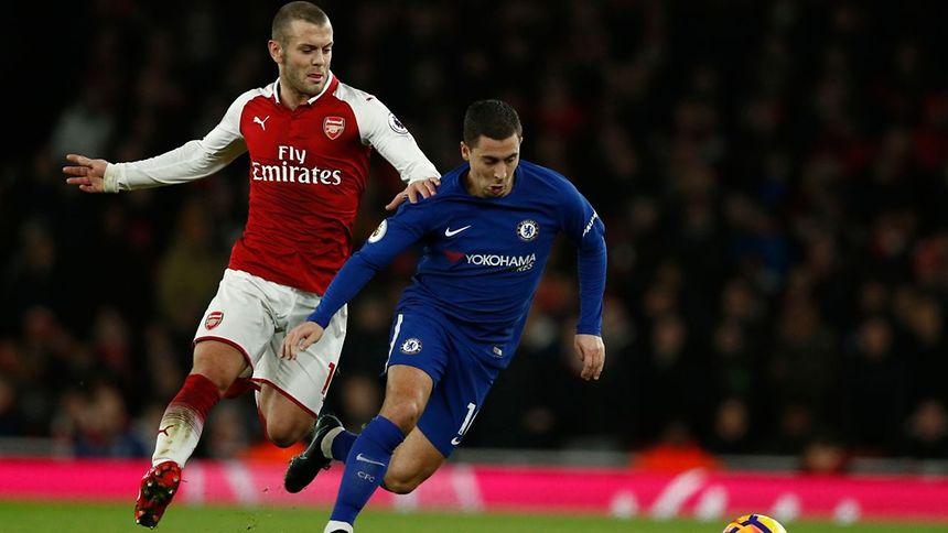 Jack Wilshere et Eden Hazard ont chacun marqué. Arsenal et Chelsea se sont quittés dos à dos au terme d'un derby passionnant.