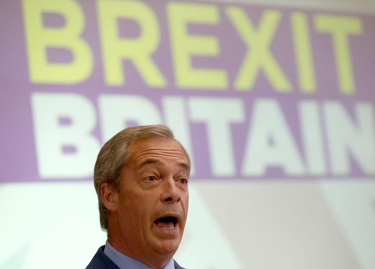 Nigel Farage war einer der prominentesten Wortführer der Brexit-Kampagne.