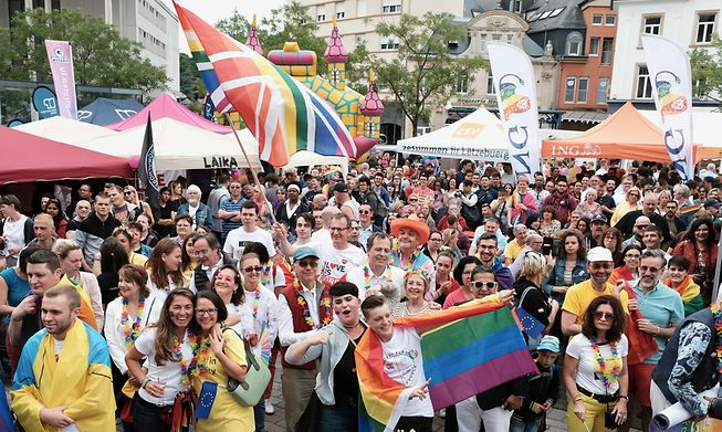 The parade will not go ahead in 2021 but there are still plenty of events and festivities taking place for Luxembourg Pride Week