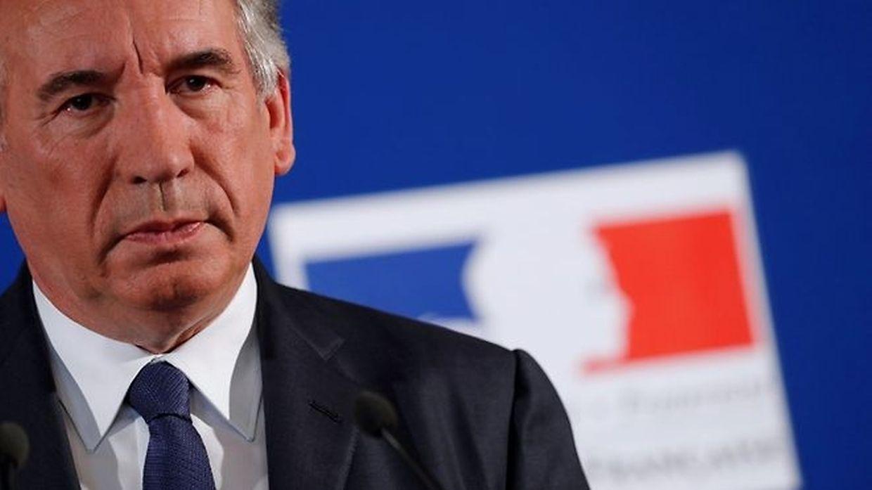 Gegen die Partei MoDem von Justizminister Francois Bayrou waren Vorwürfe der Scheinbeschäftigung laut geworden - er bestreitet das.