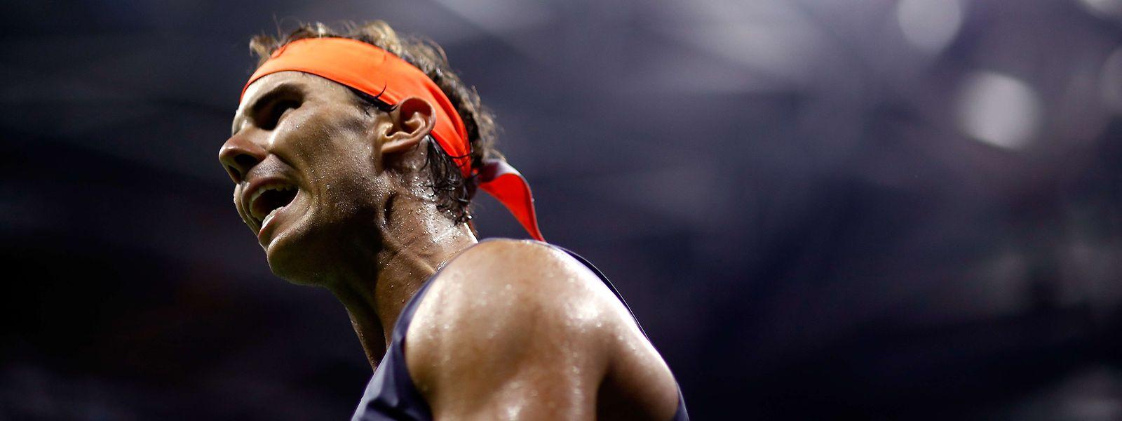 Rafael Nadal hat erneut bewiesen, dass er einer der größten Kämpfer im Tenniszirkus ist.