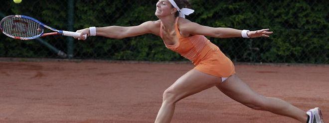 Au terme d'un match épique, où les occasions n'ont pas manqué, Mandy Minella a dû s'avouer vaincue par la Française Fiona Ferro