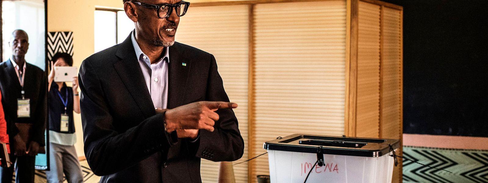 Paul Kagame konnte sich die dritte Amtszeit sichern.