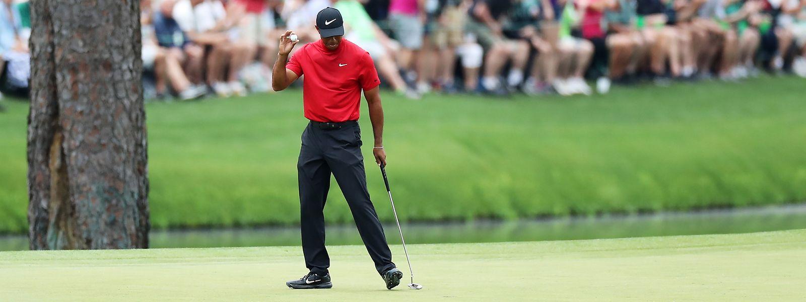 Tiger Woods wusste einmal mehr zu überzeugen.