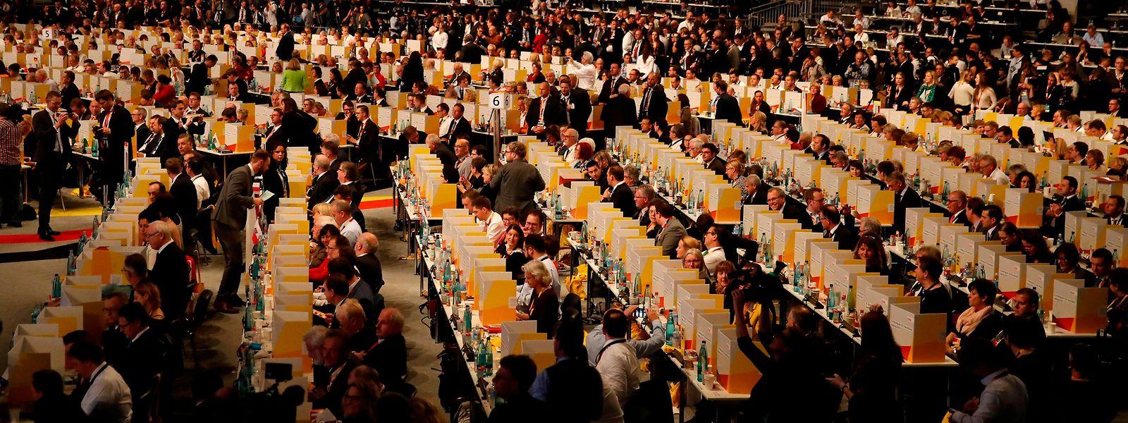 Über 1000 Delegierte tagten in Hamburg.