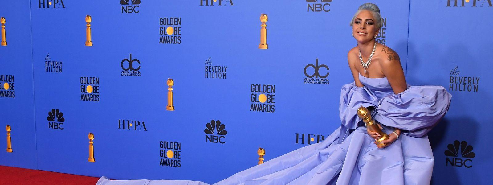 """L'an passé, pour son rôle dans """"A Star is Born"""", Lady Gaga avait tenu la vedette des 76émes Golden Globe Awards."""