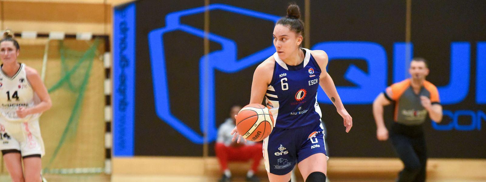 Tatsiana Likhtarovich ist Basket Esch dankbar.