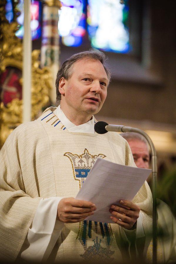 Messe für die neue Pfarrei: Kordall Sainte - Barbe (Kärjeng-Péiteng).