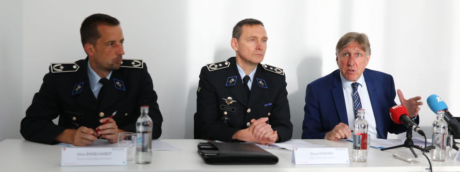 In den Jahren 2020, 2021 und 2022 wollen die Polizeiverantwortlichen neben der ordinären Rekrutierung eine substanzielle Zahl von zusätzlichen Polizeibeamten einstellen.