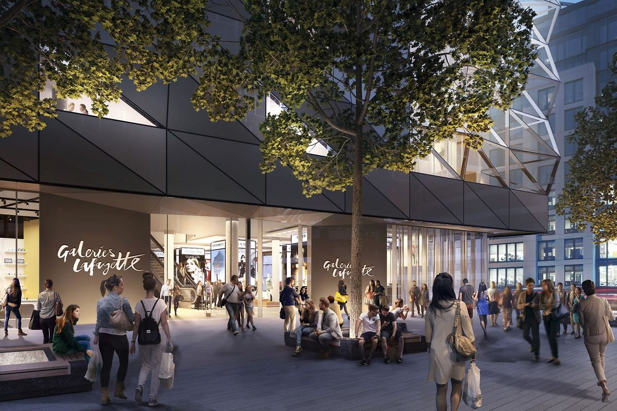 The building will include three panoramic lifts (Codic)