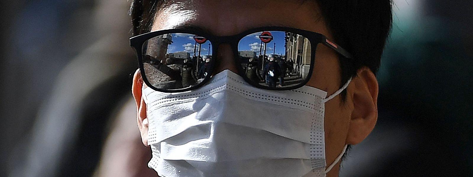 Maske in der Öffentlichkeit: in Luxemburg zurzeit eine Empfehlung, keine Pflicht.