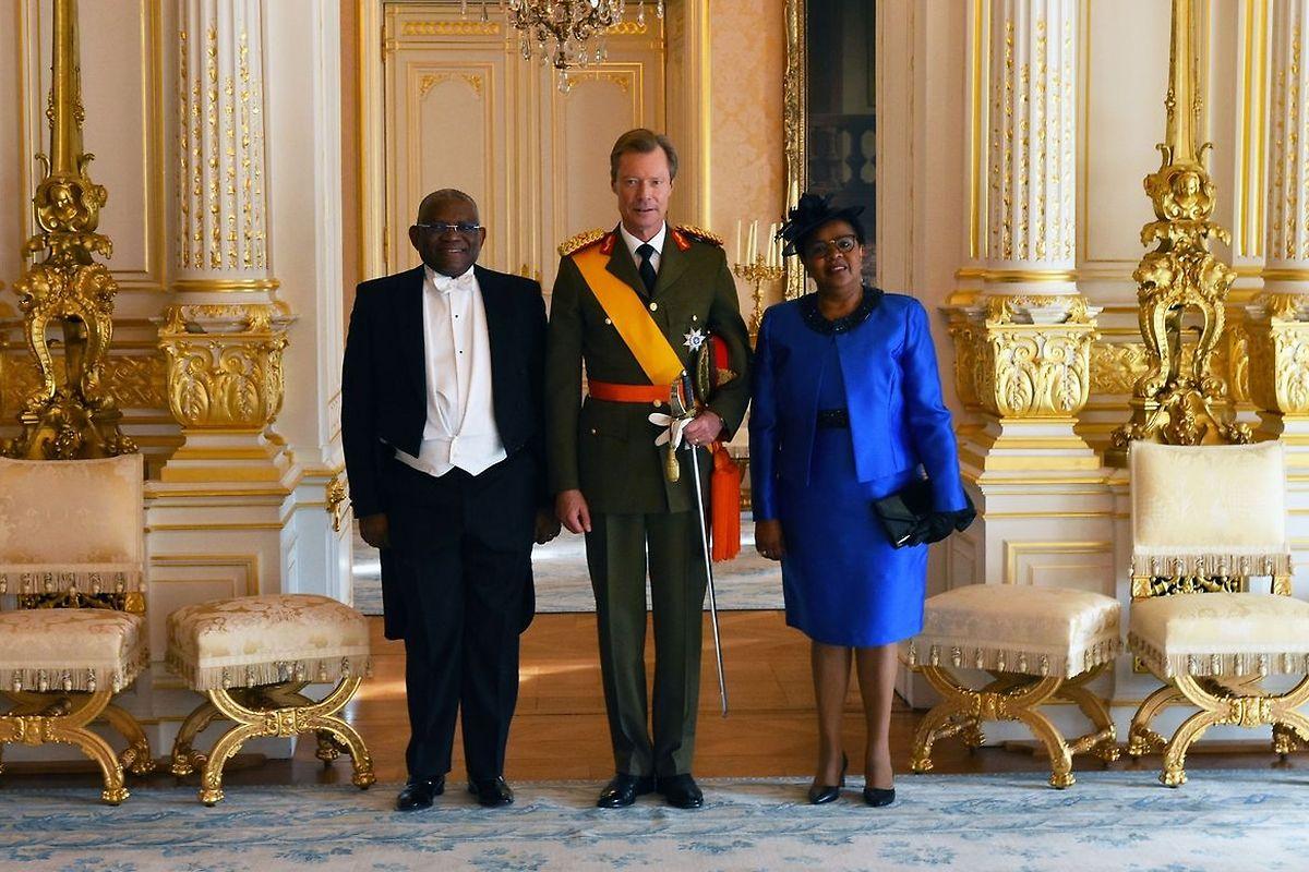 Georges Chikoti apresentou as credenciais ao Grão-Duque Henri em outubro do ano passado.