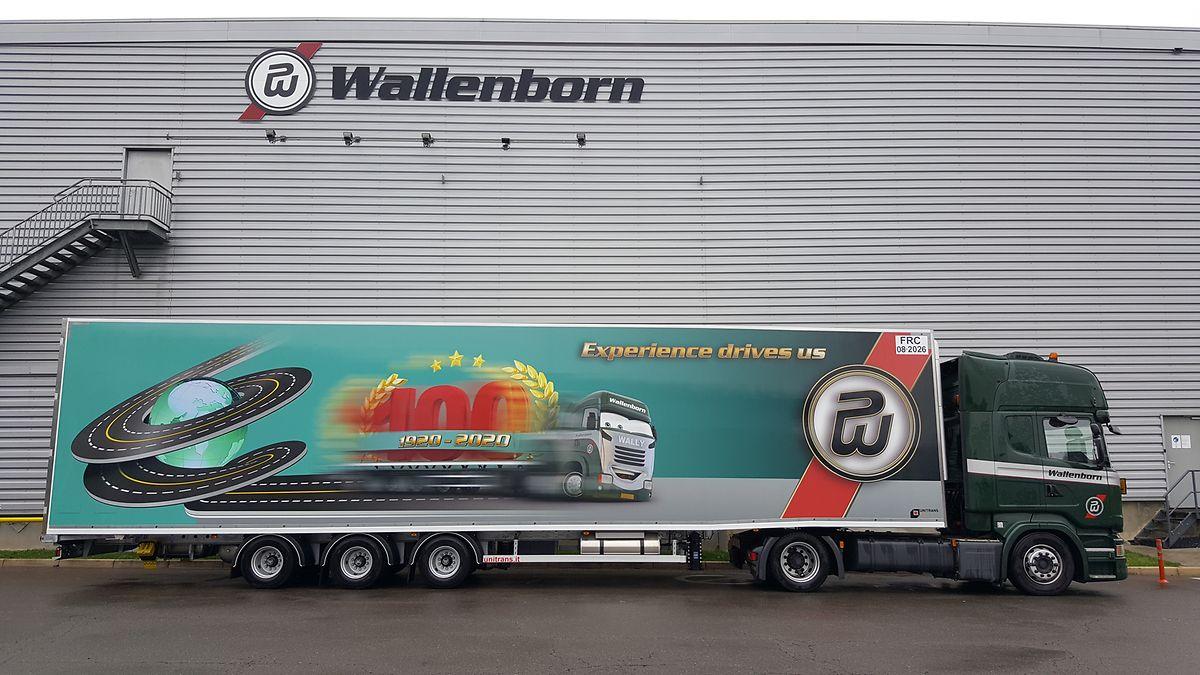 """Wallenborn in Munsbach ist mit seinen Kühlaufliegern mit der Lieferung des Impfstoffs in ein """"europäisches Land"""" beauftragt. Einzelheiten werden geheim gehalten."""