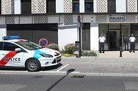 Lokale,CdP. Campagne médiatique de recrutement de la Police & Inauguration nouveau commissariat de Police à Limpertsberg.Foto:Gerry Huberty/Luxemburger Wort