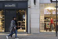 In ganz Luxemburg haben die Geschäfte seit Montag geschlossen, mit Ausnahme von lebenswichtigen Läden und Einrichtungen.