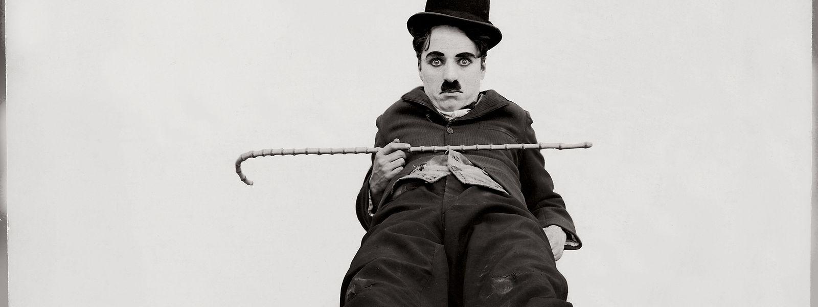 Ikonisch: Charlie Chaplin in seiner berühmten Rolle.