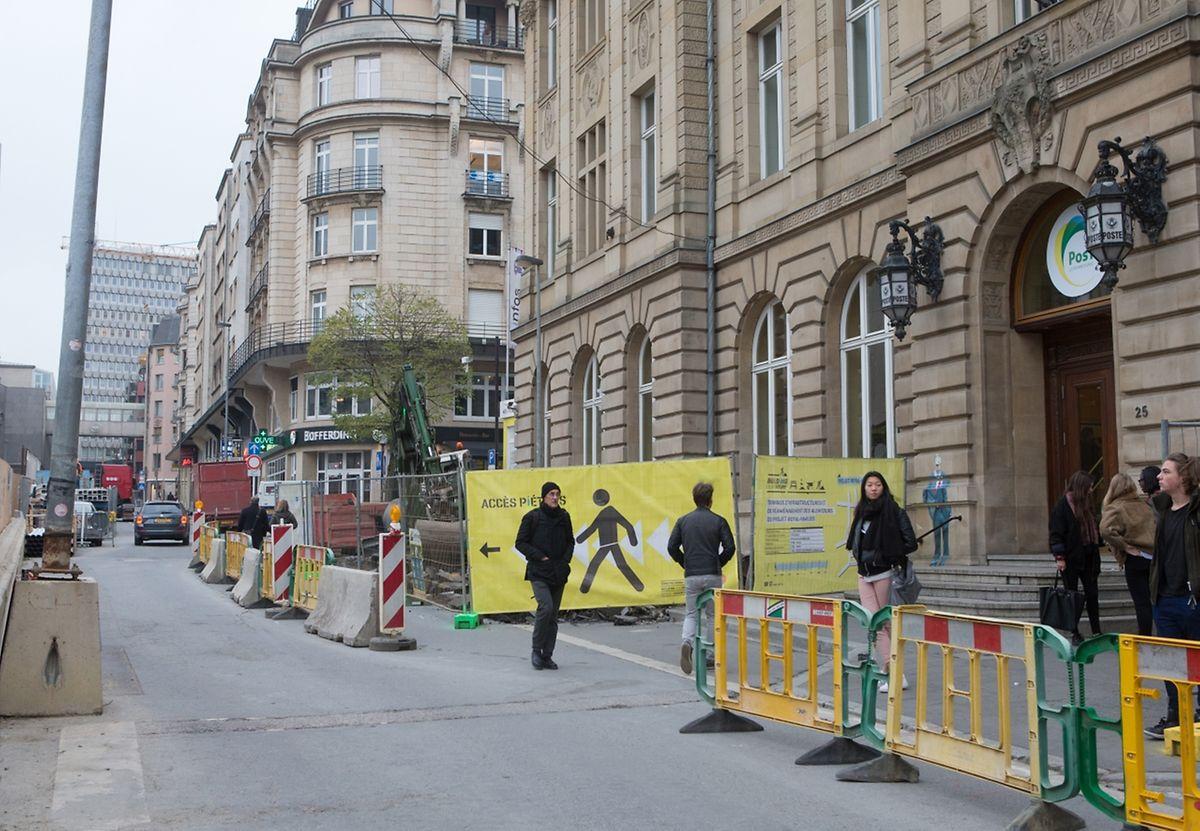 Autos werden in der Rue Aldringen künftig keine mehr zu sehen sein. Genau wie ein Teil der Grand-Rue sowie der Avenue Monterey wird sie zur Fußgängerzone.