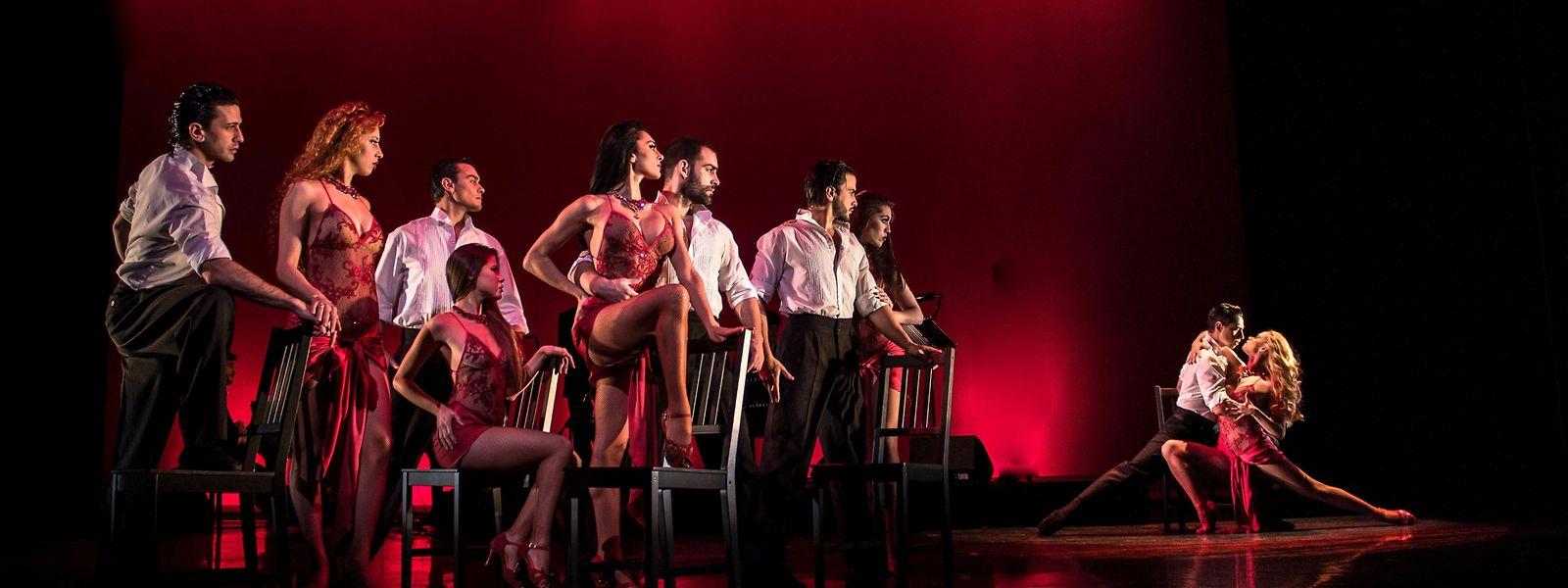 German Cornejo e Gisela Galeassi regressam ao pais para duas noites de tango.