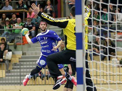 Tommy Wirtz und der HB Düdelingen gewannen gegen Razvan Cenusa und HB Käerjeng.