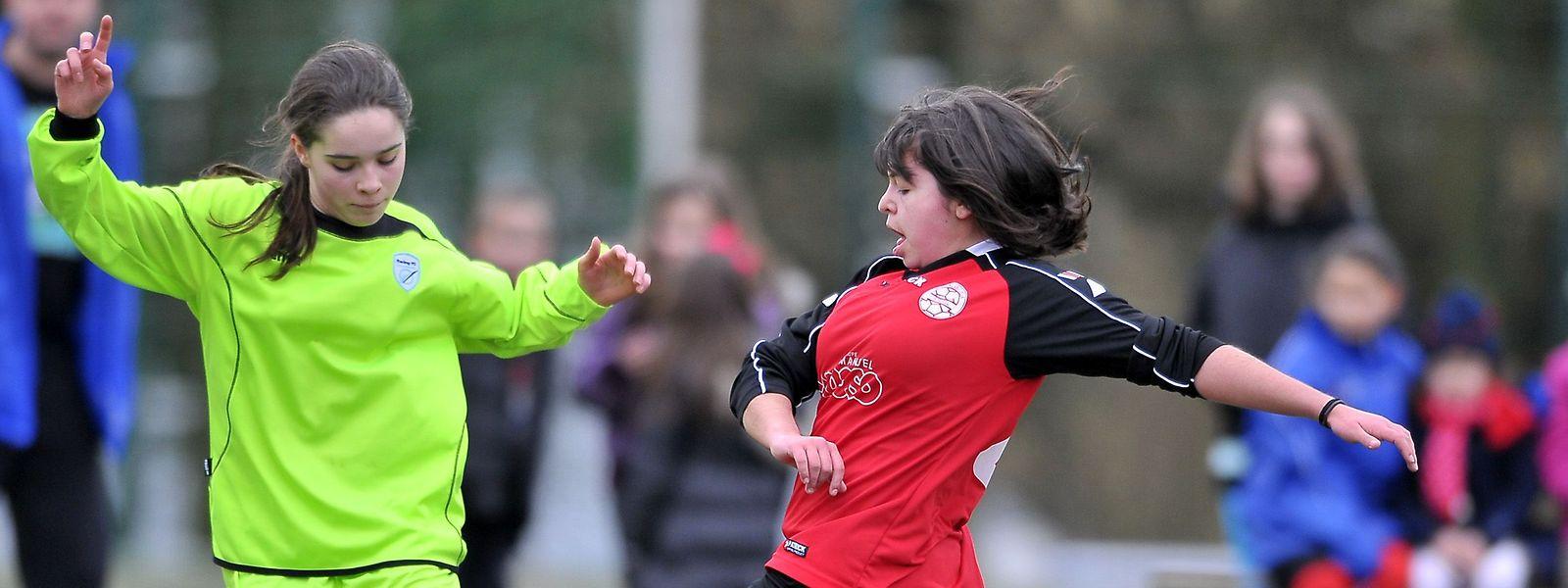 Immer beliebter: Die Mitgliederzahlen im Mädchenfußball steigen in Luxemburg stetig an.