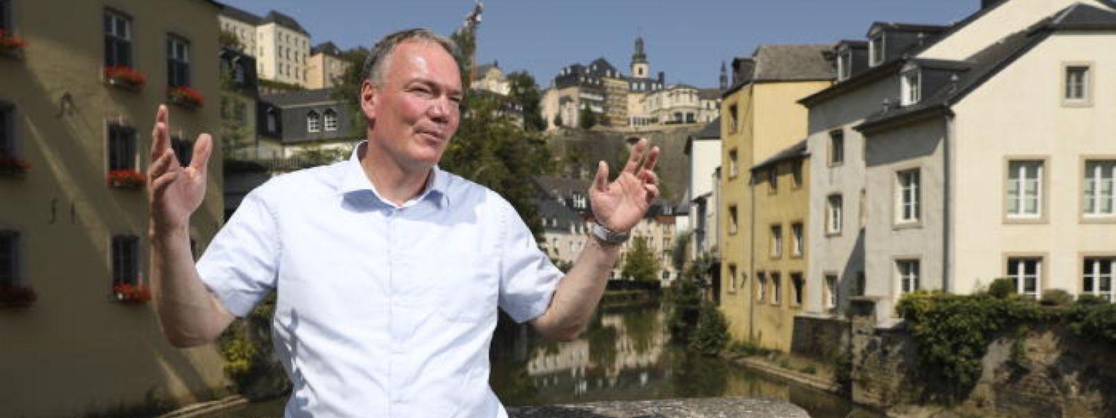 Andreas Steier vertritt den Raum Trier in Deutschen Bundestag und versucht auch dort für die Großregion zu werben.