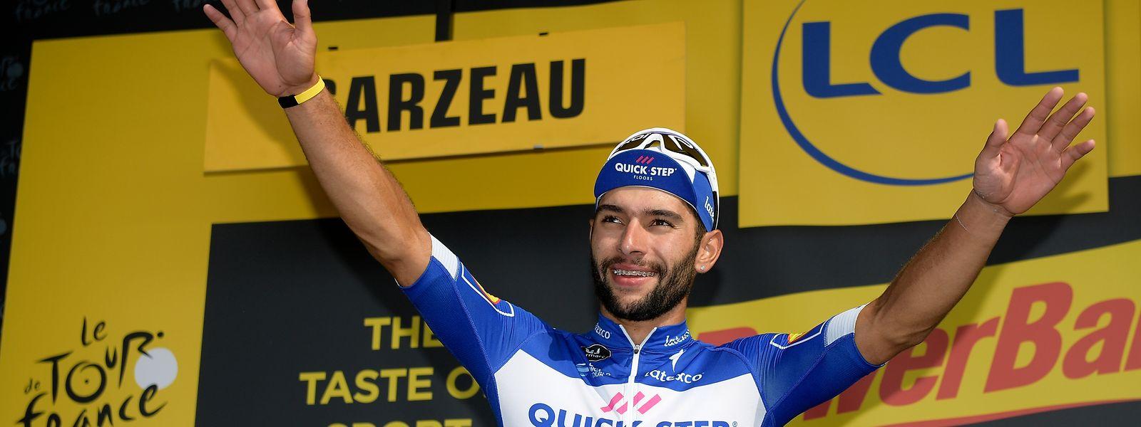 Fernando Gaviria já venceu duas etapas.
