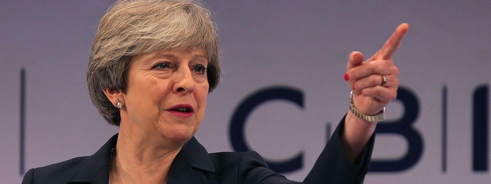 Theresa May meint es nach wie vor ernst mit dem Brexit.