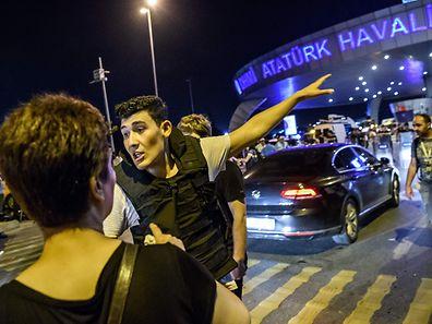 Anschlag auf den Atatürk-Flughafen in Istanbul.
